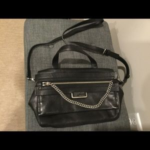 Black Leather Handbag Marc by Marc Jacobs
